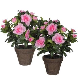 Azalee Kunstblumen