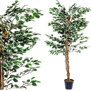 Ficus Kunstbaum Kunstpflanze