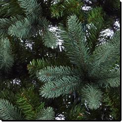 Künstlicher Weihnachtsbaum Nahaufnahme
