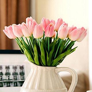 Tulpen Kunstblumen Deko