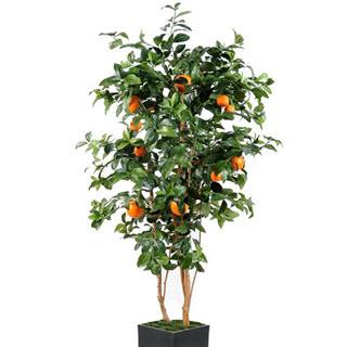 Künstlicher Orangenbaum Deko Kunstbaum